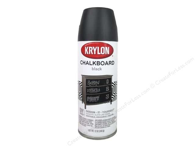Krylon Chalk Board Paint 12 oz. Black