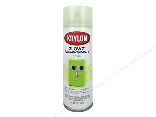 Krylon Glowz Glow-in-the-Dark Paint 6 oz.