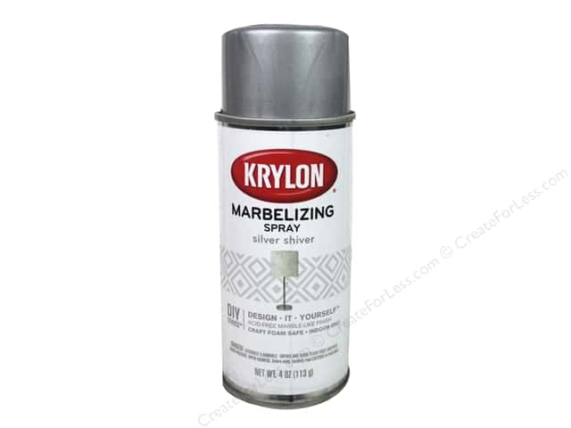 Krylon Marbelizing Spray 4 oz. Silver Shiver