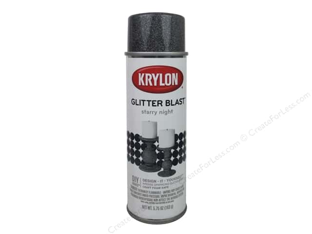 Krylon Glitter Blast Spray Paint 5.75 oz. Starry Night