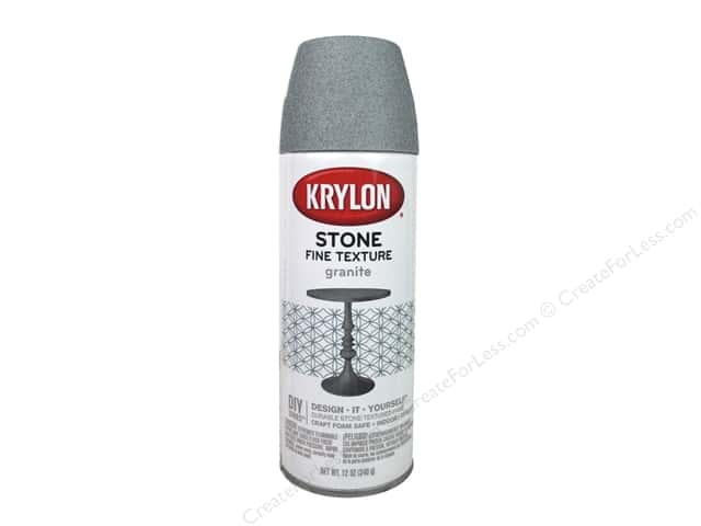 Krylon Natural Stone Paint 12 oz. Granite