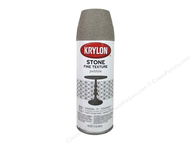 Krylon Natural Stone Paint 12 oz. Pebble