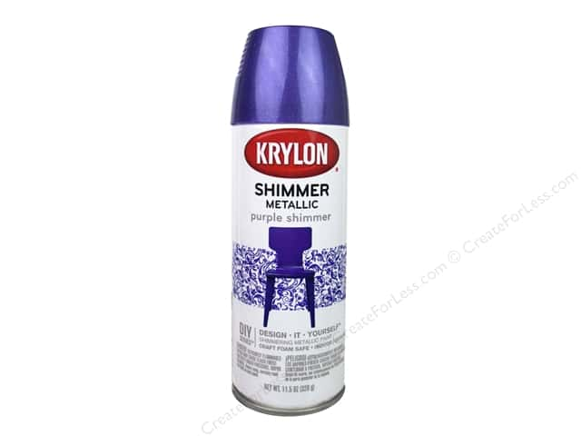 Krylon Shimmer Metallic Spray Paint 11.5 oz. Purple