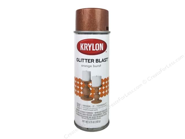 Krylon Glitter Blast Spray Paint 5.75 oz. Orange Burst