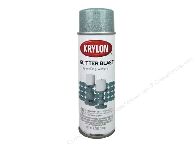 Krylon Glitter Blast Spray Paint 5.75 oz. Sparkling Waters