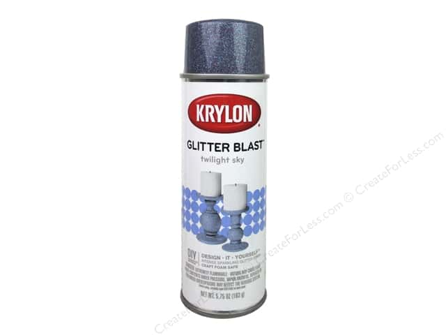 Krylon Glitter Blast Spray Paint 5.75 oz. Twilight Sky