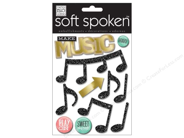Me & My Big Ideas Soft Spoken Stickers Make Music