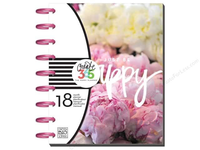 Me&My Big Ideas Create 365 Happy Planner Planner Medium Peony Florals