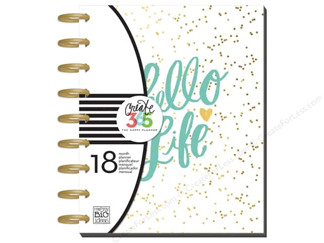 Me&My Big Ideas Create 365 Happy Planner Planner Medium Hello Life