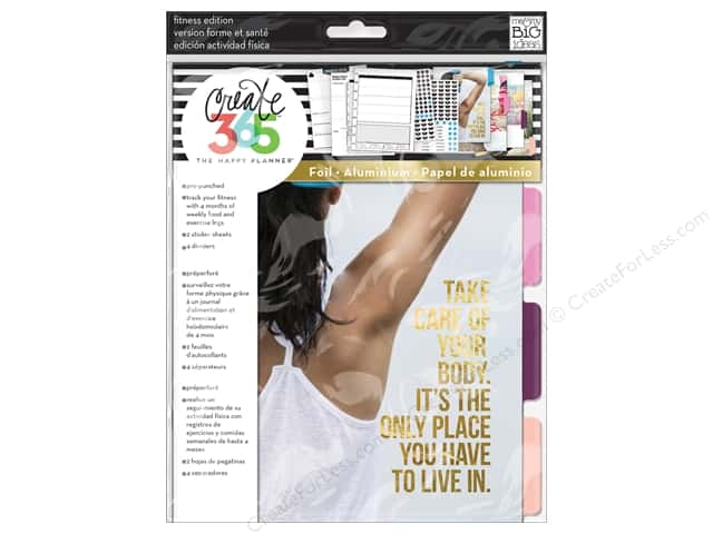Me&My Big Ideas Create 365 Happy Planner Extension Classic Fitness