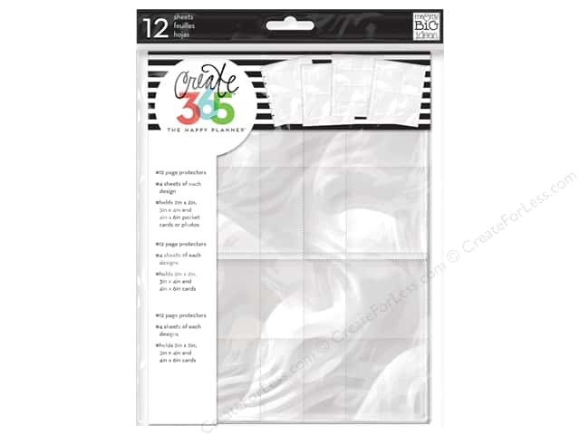 Me&My Big Ideas Create 365 Happy Planner Page Protector Assorted (2 sets)