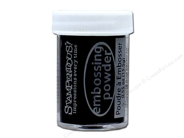 Stampendous Embossing Powder .60 oz. Detail Black