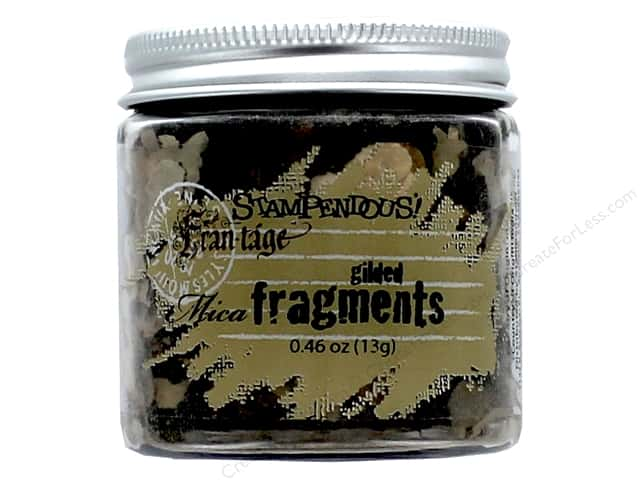 Stampendous Fran-Tage Mica Fragments .67 oz. Gilded