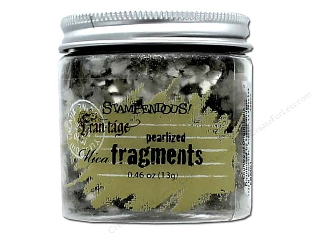 Stampendous Fran-Tage Mica Fragments .67 oz. Pearlized