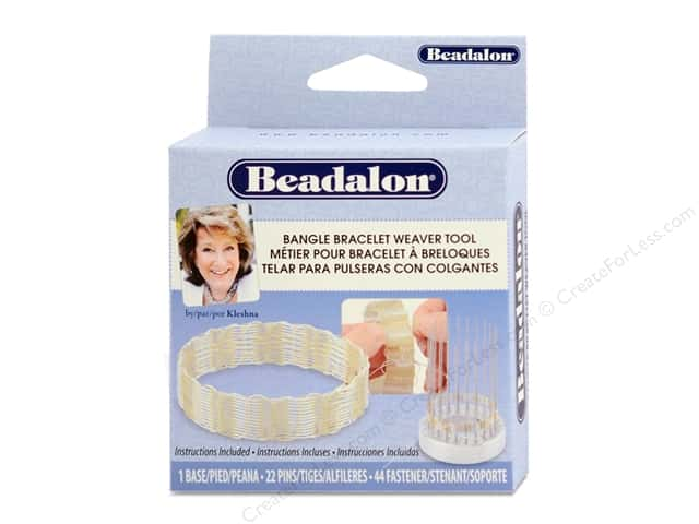 Beadalon Bangle Bracelet Weaver Tool