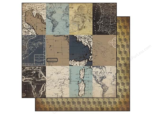 Carta Bella 12 x 12 in. Paper Old World Travel 3 x 4 Journaling Cards (25 sheets)