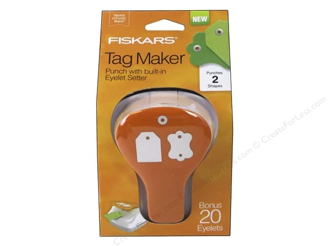 Fiskars Punch Craft Tag Maker II Label/Simple