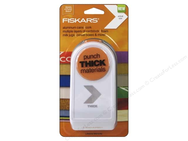 Fiskars Thick Materials Punch 1 1/2 in. Chevron