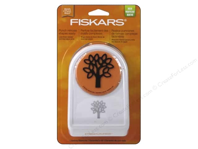Fiskars Intricate Shape Punch 2 in. Family Tree