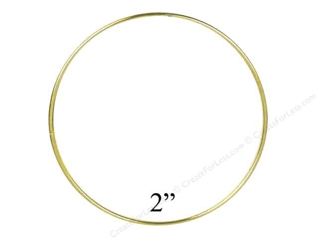 Brass Rings 2 in. (10 pieces)