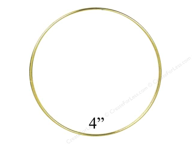 Brass Rings 4 in. (10 pieces)