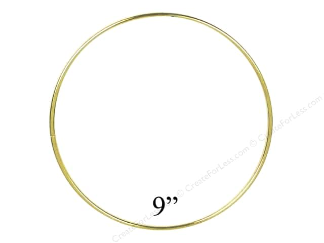 PA Essentials Brass Rings 9 in. (6 pieces)