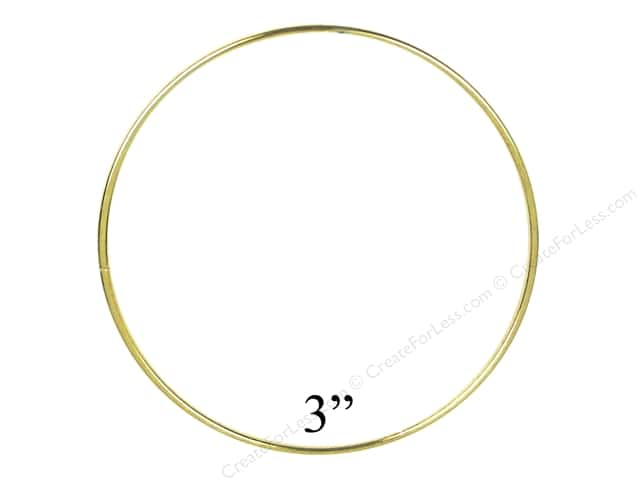 Brass Rings 3 in. (10 pieces)