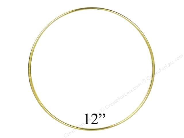 PA Essentials Brass Rings 12 in. (6 pieces)