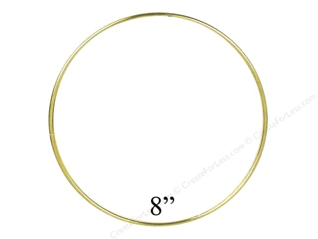 PA Essentials Brass Rings 8 in. (6 pieces)