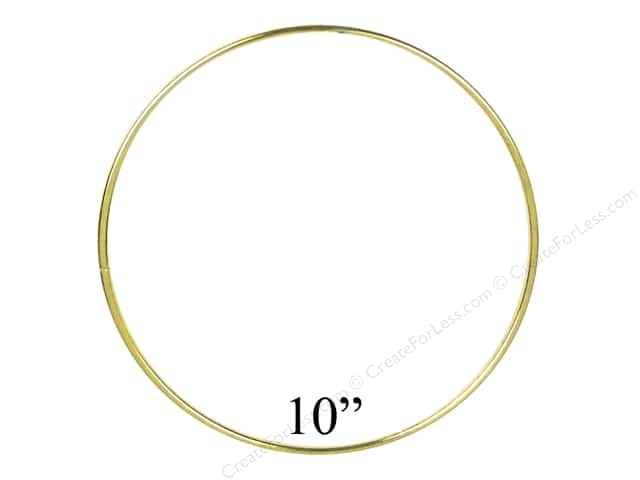 PA Essentials Brass Rings 10 in. (6 pieces)
