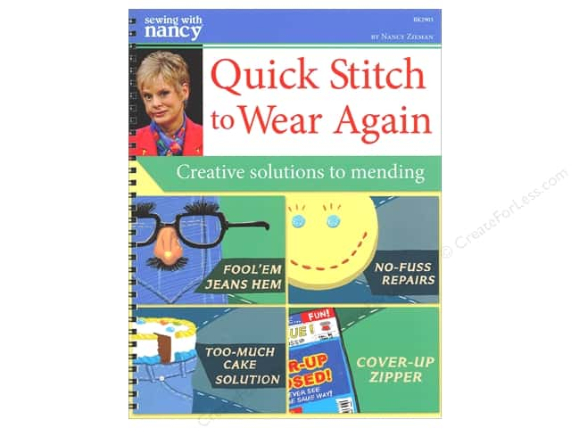 Sewing With Nancy Quick Stitch To Wear Again Book