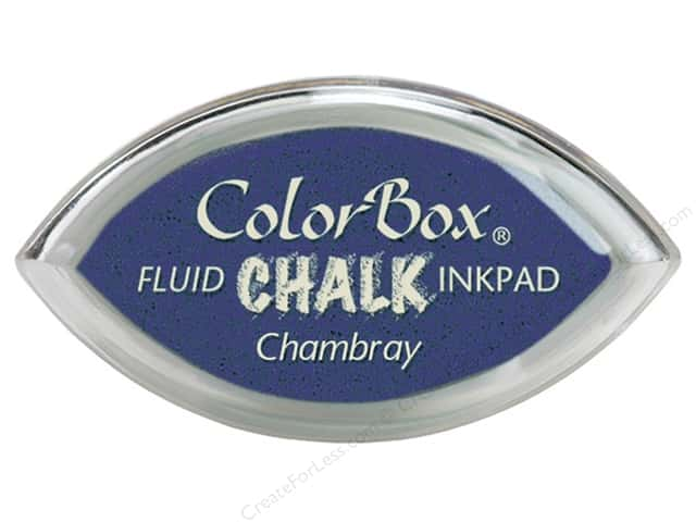 ColorBox Fluid Chalk Ink Pad Cat's Eye Chambray