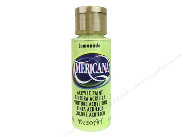 DecoArt Americana Acrylic Paint 2 oz. #252 Lemonade