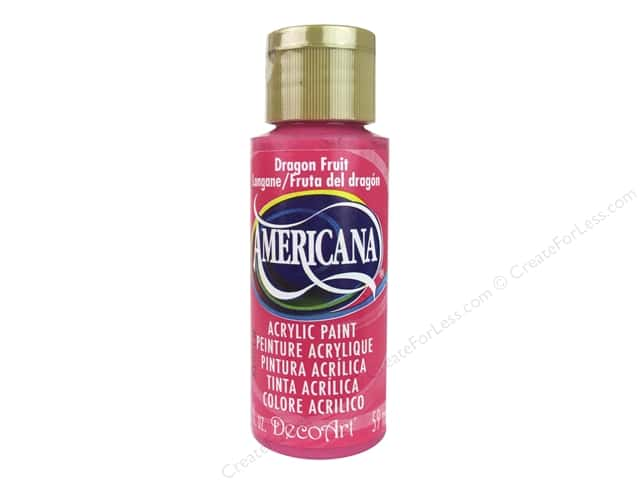 DecoArt Americana Acrylic Paint 2 oz. #300 Dragon Fruit