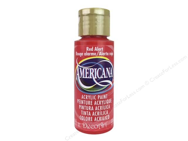 DecoArt Americana Acrylic Paint 2 oz. #301 Red Alert