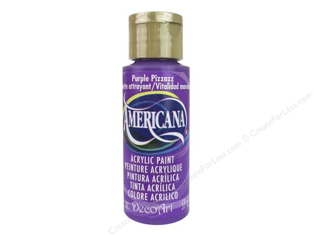 DecoArt Americana Acrylic Paint 2 oz. #302 Purple Pizzazz