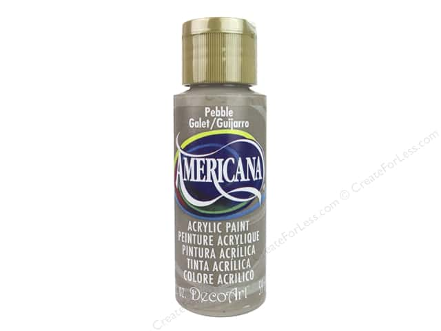 DecoArt Americana Acrylic Paint 2 oz. #303 Pebble