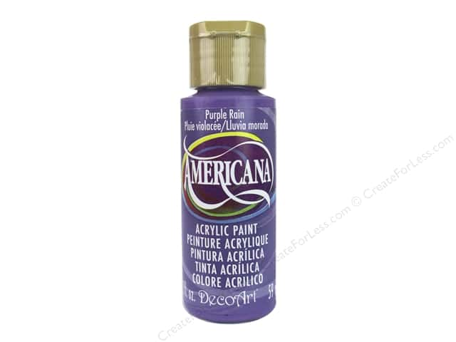 DecoArt Americana Acrylic Paint 2 oz. #327 Purple Rain