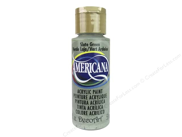 DecoArt Americana Acrylic Paint 2 oz. #281 Slate Green