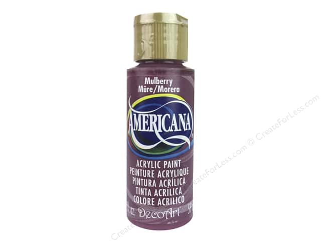 DecoArt Americana Acrylic Paint 2 oz. #294 Mulberry