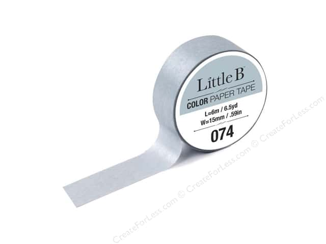 Little B Color Paper Tape 9/16 in. #074 Warm Grey