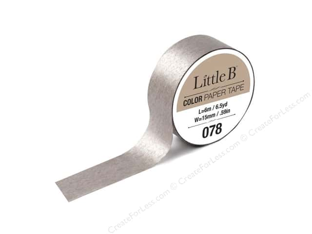 Little B Color Paper Tape 9/16 in. #078 Champagne