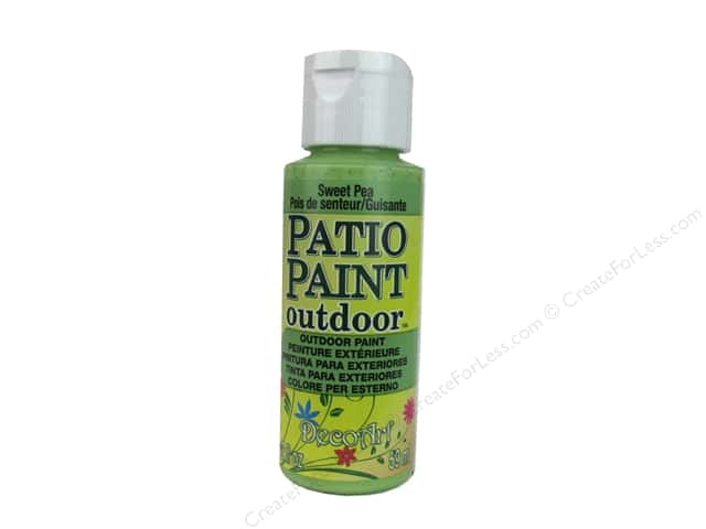 DecoArt Patio Paint Outdoor Acrylic Paint 2 oz. #59 Sweet Pea