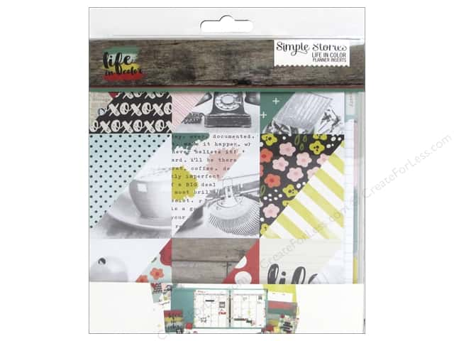 Simple Stories Collection Life In Color Planner Set