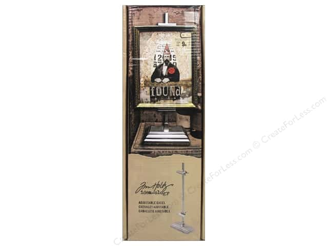 Tim Holtz Idea-ology Easel Adjustable Silver