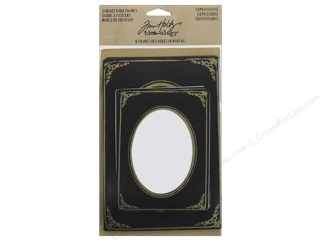 Tim Holtz Idea-ology Mini Cabinet Cards Sophisticate