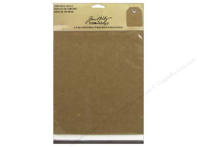 Tim Holtz Idea-ology Substrate Sheets