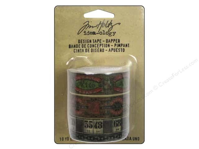 Tim Holtz Idea-ology Design Tape Dapper