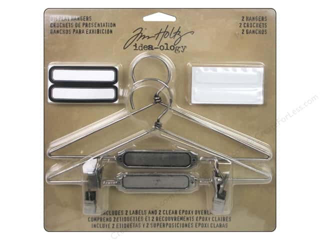 Tim Holtz Idea-ology Display Hangers Silver