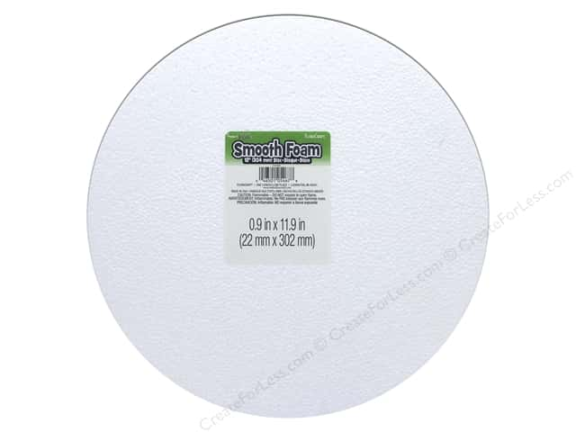 FloraCraft Smooth Foam Disc 12 x 1 in. 1 pc.